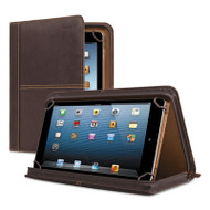 """Premiere Leather Universal Tablet Case, Fits Tablets 8.5"""" up to 11"""", Espresso"""