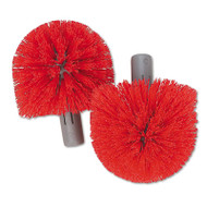 Replacement Heads for Ergo Toilet-Bowl-Brush System, 2/Pack, 5 Packs/Carton