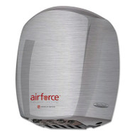Airforce Hand Dryer, Stainless Steel, Brushed