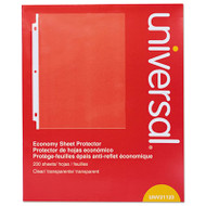 Standard Sheet Protector, Economy, 8 1/2 x 11, Clear, 200/Box