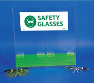 DOUBLE SAFETY GLASSES DISPENSER