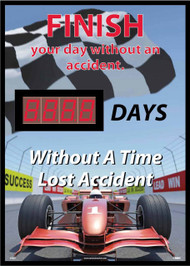 FINISH YOUR DAY WITHOUT AN ACCIDENT SCOREBOARD