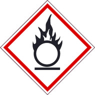 OXIDIZER GHS LABEL