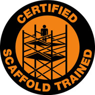 CERTIFIED SCAFFOLD TRAINED LABEL