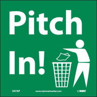 PITCH IN LABEL