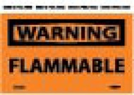 WARNING FLAMMABLE LABEL