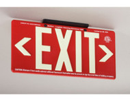 100FT RED EXIT SIGN