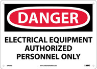 DANGER ELECTRICAL EQUIPMENT SIGN