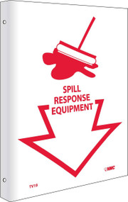 2-VIEW SPILL RESPONSE EQUIPMENT SIGN