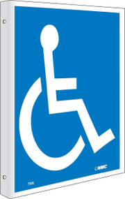 2-VIEW HANDICAPPED SIGN
