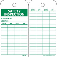 SAFETY INSPECTION EQUIPMENT ID TAG