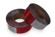CONSPICUITY REFLECTIVE TAPE RED/WHITE