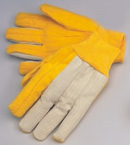 Heavy weight golden chore - two layer palm - canvas back - knit wrist