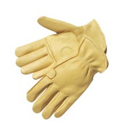 Superior grain deer skin - double palm - rolled cuff - XS-XL