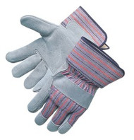 Select shoulder leather - gray double palm
