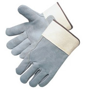"""Full leather back - 2 3/4"""" safety cuff"""