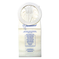 Vacuum Filters for Most Commercial Vacuum Cleaners, 10-Quart, 10/PK