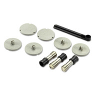 03200 XTreme Duty Replacement Punch Heads and Disc Set, 9/32 Diameter