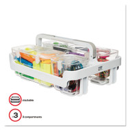 Caddy Organizer, 10 1/2 x 14, White