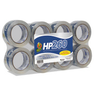 """HP260 Packaging Tape, 1.88"""" x 60yds, 3"""" Core, Clear, 8/Pack"""