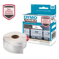 LW Durable Shelving Labels, 1 x 3 1/2, 100/Roll