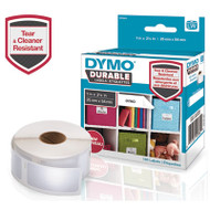 LW Durable Multi-Purpose Labels, 1 x 2 1/8, 160/Roll
