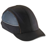 Skullerz 8960 Bump Cap w/LED Lighting Technology, Short Brim, Black