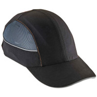 Skullerz 8960 Bump Cap w/LED Lighting Technology, Long Brim, Black
