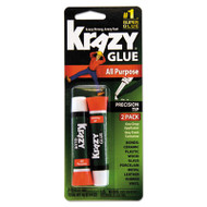 All Purpose Krazy Glue, 2 g, Clear, 12 per pack