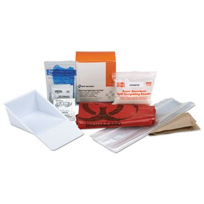 """BBP Spill Cleanup Kit, 3.625"""" x 4.312"""" x 2.25"""""""