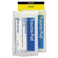 SmartCompliance Refill Trauma Pad, 5 x 9, White, 2/Bag