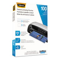 Laminating Pouches, Letter Size, Hot Pouch, 9 x 11.5, 3 mil, 100 pack