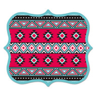 Designer Mouse Pads, Tribal Print, 9 x 8 x 3/16