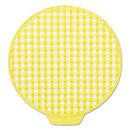 ActiveAire Deodorizer Urinal Screen, Sunscape, Yellow, 12/Ctn