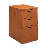 10500 Series Box/Box/File Mobile Pedestal, 15 3/4w x 22 3/4d x 28h, Bourbon CY