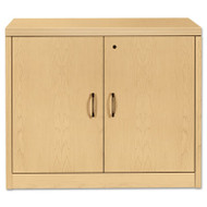 11500 Series Valido Storage Cabinet w/Doors, 36w x 20d x 29-1/2h, Natural Maple