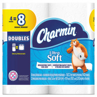 Ultra Soft Bathroom Tissue, 2-Ply, 4 x 3.92, 142 Sheets/Roll, 4 Rolls/Pack