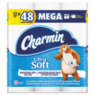 Ultra Soft Bathroom Tissue, 2-Ply, 4 x 3.92, 284 Sheets/Roll, 12 Rolls/Pack