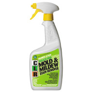 Bleach Free Mold & Mildew Stain Remover, 32 oz Spray Bottle, 6/CT