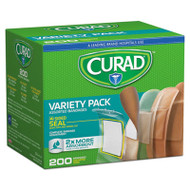 Variety Pack Assorted Bandages, 200/Box