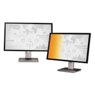 """Frameless Gold LCD Privacy Filter for 24"""" Widescreen Monitor, 16:10"""