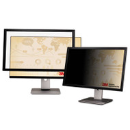 """Framed Desktop Monitor Privacy Filter for 23.6"""" to 24"""" Widescreen LCD, 16:10"""