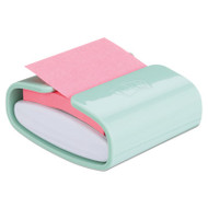 Pop-up Notes Super Sticky Pop-up Notes Wrap Dispenser, 3 x 3 Pads, Mint