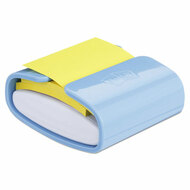 Pop-up Notes Super Sticky Pop-up Notes Wrap Dispenser, 3 x 3 Pads, Periwinkle