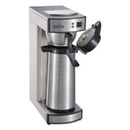 Air Pot Brewer, Stainless Steel, 75 oz, 8 3/4 x 14 3/4 x 21 1/4