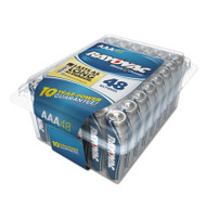 Alkaline Battery, AAA, 48/Pack