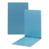 Top Opening Pressboard Report Cover, Prong Fastener, 11 x 17, Blue