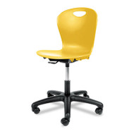 Adjustable-Height Task Chair, 24-1/8w x 24-1/8d x 30–34-1/2h, Squash