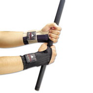 Dual-Flex Wrist Supports, Large, Nylon, Black