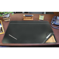 Hide-Away PVC Desk Pad, 31 x 20, Black